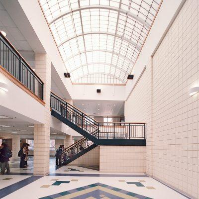 Cohasset High School Atrium