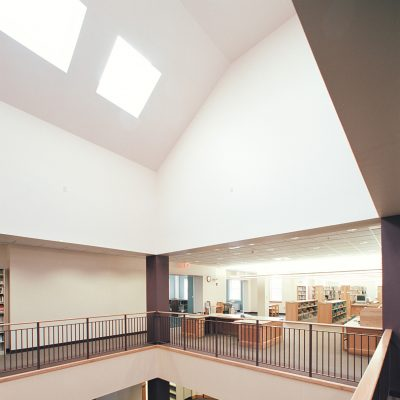 Milbury Library Interior