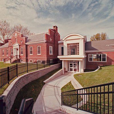 Milbury Library Exterior