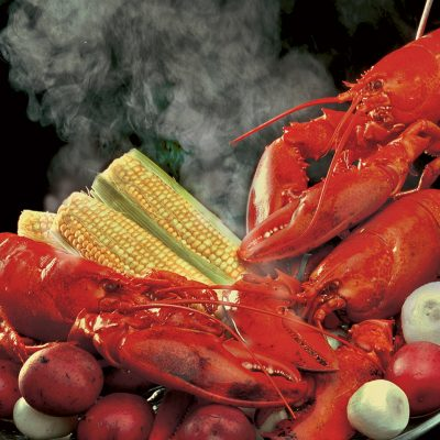 Steaming Lobster